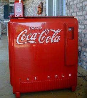 antique coke machine parts